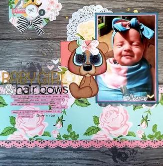 Baby Girl & Hair Bows