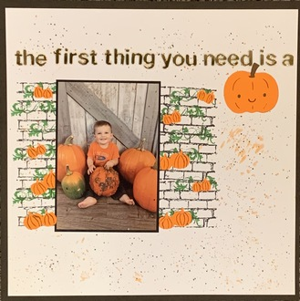 The First Thing You Need Is A Pumpkin