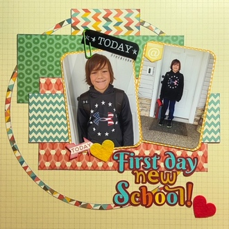 First Day New School