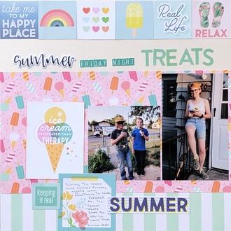 Summer Friday Night Treats/ Krystal's fast scrap