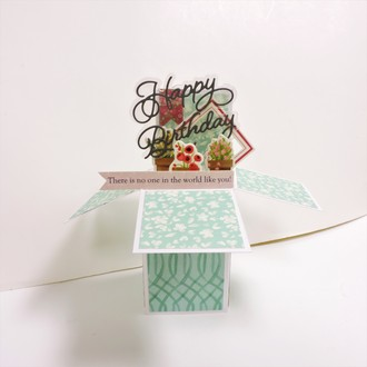 Happy Birthday Box Card
