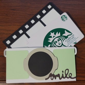 Capture the moment giftcard