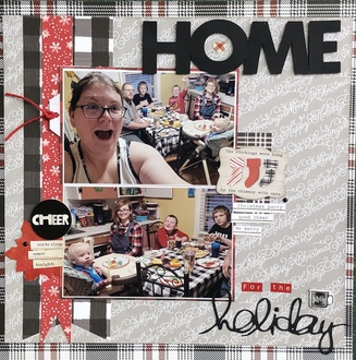 Home for the Holidays/ Joanies BG challenge