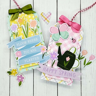 Happy Spring tags