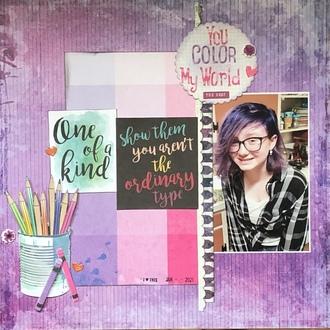 You Color My World/ Becky Fleck #222