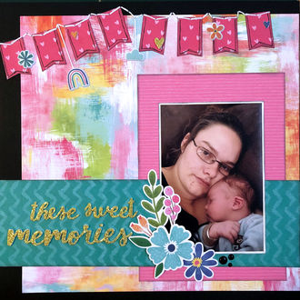 These Sweet Memories (May 2021 pawprints NSD Hang It Up Challenge)