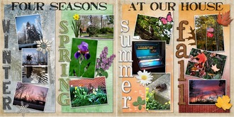 Four Seasons at Our House
