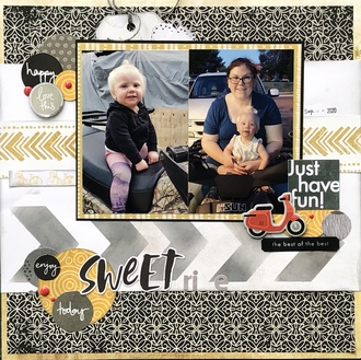 Sweet Ride/ Natalie's Chevron Challenge