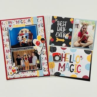 Disney 6x8 album pages