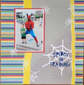 Spidey in Training
