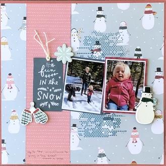 Fun in the Snow/ Becky Fleck #223