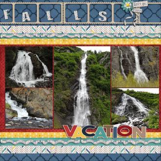 Vacation Alaska Falls
