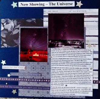 Now Showing - The Universe