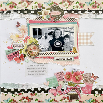 Grateful Heart Layout