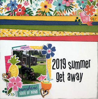 2019 Summer Get Away (May/June 2021 3 In A Row Challenge)
