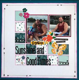 Sunshine and Good Times (June 2021 Grab Five Challenge)