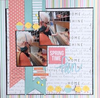 Springtime Fun/ June Title challenge