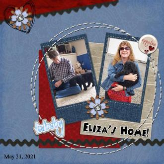 Eliza's Home!