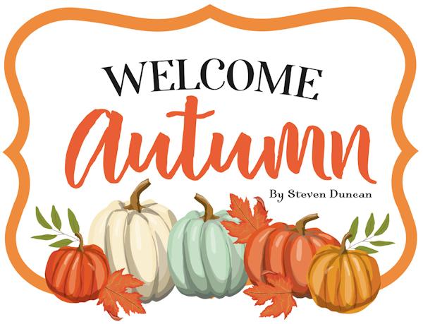 Welcome Autumn Carta Bella Steven Duncan