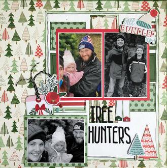 Tree Hunters (June 2021 Becky Fleck Sketch Challenge 227)
