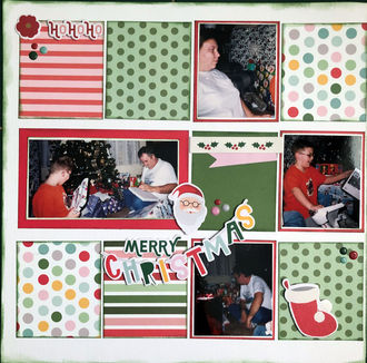 Merry Christmas (June 2021 Double Page Challenge)
