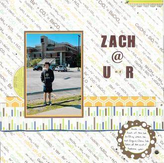 Zach @ UofR