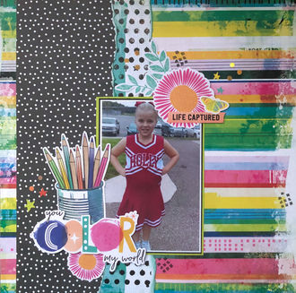 You Color My World (June 2021 Mood Board Challenge)