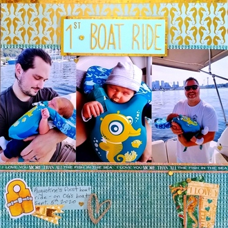 1st Boat Ride