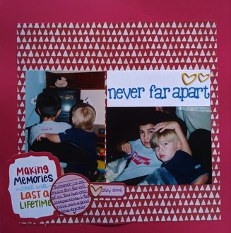Never Far Apart