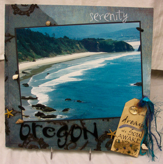 Serenity (Canvas Concepts) - As seen in the Kodak Book of Scrapbooking