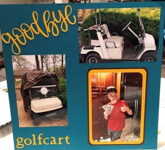 selling golfcart
