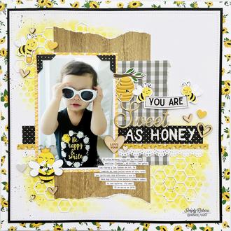 Sweet as Honey Layout