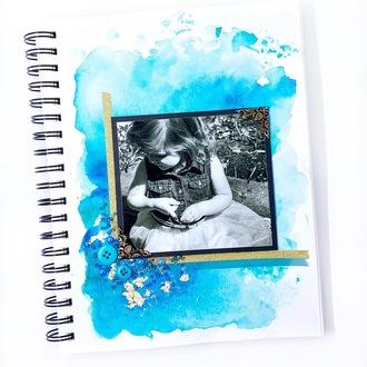 Watercolor Background - Art Journal
