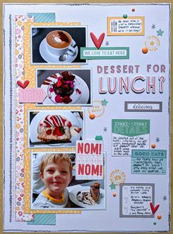 Dessert for Lunch