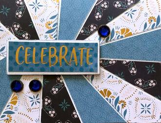Celebrate (July 2021 Card Challenge)