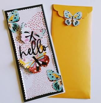 Hello Card & Envelope