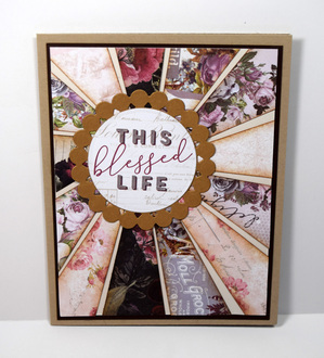 This Blessed Life Anniversary Card