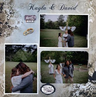 Kayla and David Wedding Day