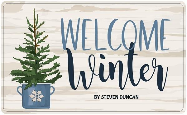 Welcome Winter Carta Bella Steven Duncan