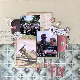 Let's Fly/ julySketch with a Twist