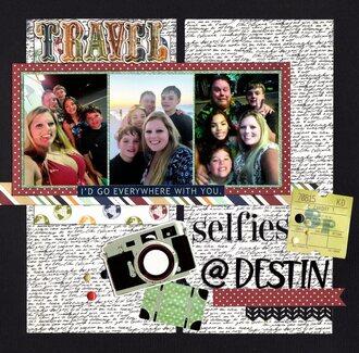 Selfies at Destin