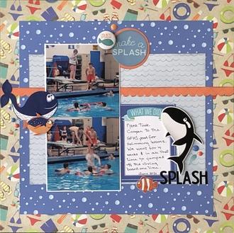 Make a Splash/ July 3 in a Row