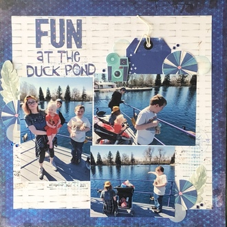Fun at the Duck Pond/ July Mood Board