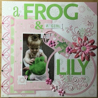 A Frog & A Girl Named Lily