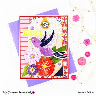 Purple Bird