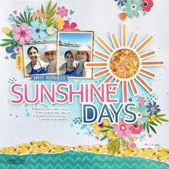 Sunshine Days Layout