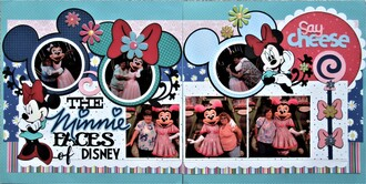 The Minnie Faces of Disney