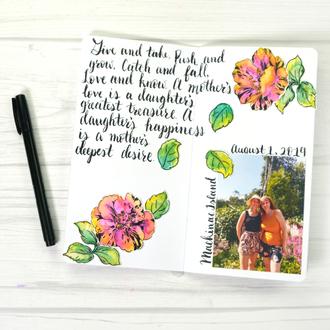 TN Watercolor Florals
