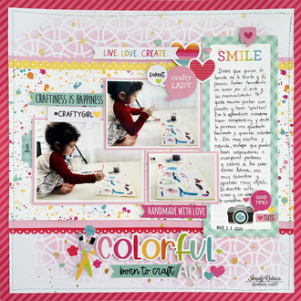 Colorful Art Layout