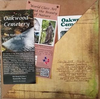 Oakwood Cemetery Memorabilia